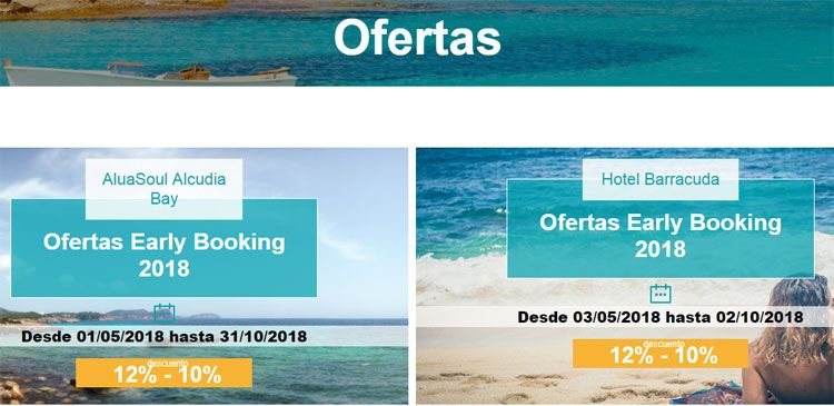 Ofertas Alua Hotels & Resorts