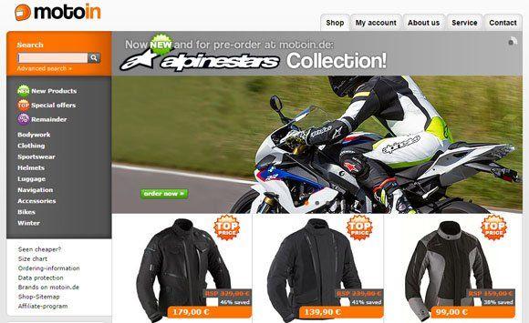 12944bccf62 Al acceder a la tienda online de Motoin encontrarás una amplia variedad de  cascos