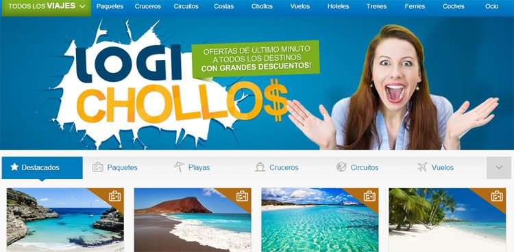 Chollos en Logitravel
