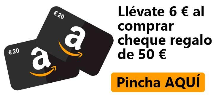 CHEQUE AMAZON REGALO DE 6 EUROS